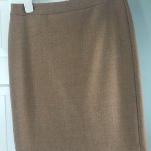 JCrew wool no 2 pencil skirt